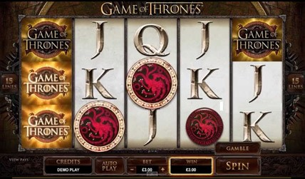 Game of Thrones Slot screenshot 3
